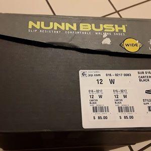 NUNN BUSH KORE Shoes - NWTAGS LEATHER NUNN BUSH KORE WALKING SHOES, 12 W